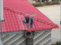 安徽滁州库房秸秆纤维聚酯瓦工程案例
