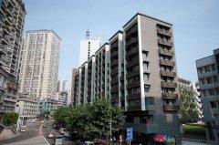 重庆江北商业住宅项目柔性饰材工程案例