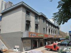 重庆学府大道街外墙改造项目柔性饰材工程案例