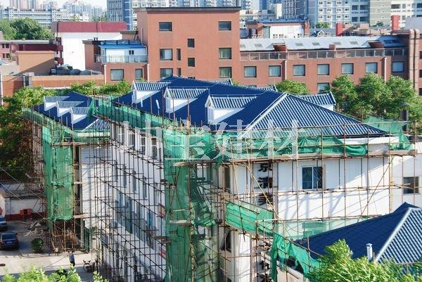 屋顶隔热材料合成树脂瓦效果图