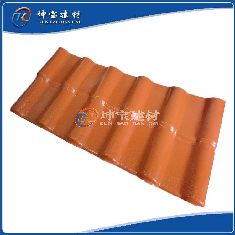 塑料瓦_新型树脂琉璃瓦