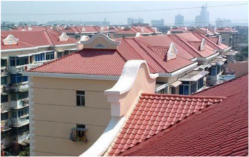 (树脂瓦厂家)农房屋顶用树脂瓦